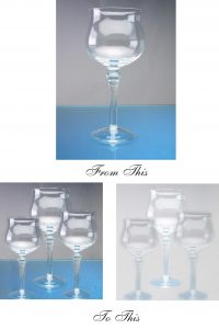 From one wine glass to 3